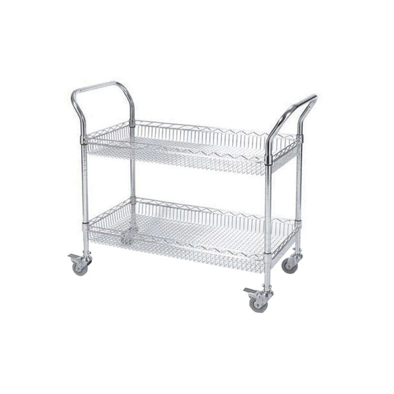 Basket Trolleys - 2 and 3 Tiers