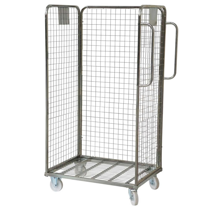 Merchandise Picking Roll Container - 3 Sided