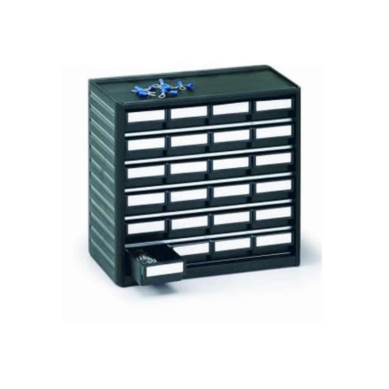 ESD storage cabinet - 24 x size 01 drawers