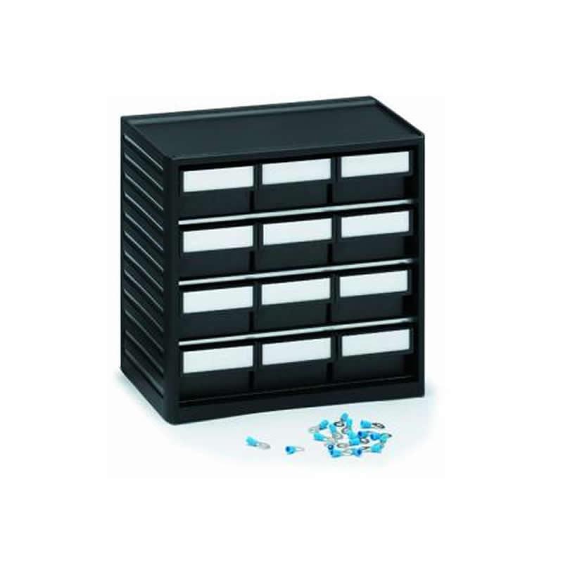 ESD storage cabinet - 12 x size 04 drawers
