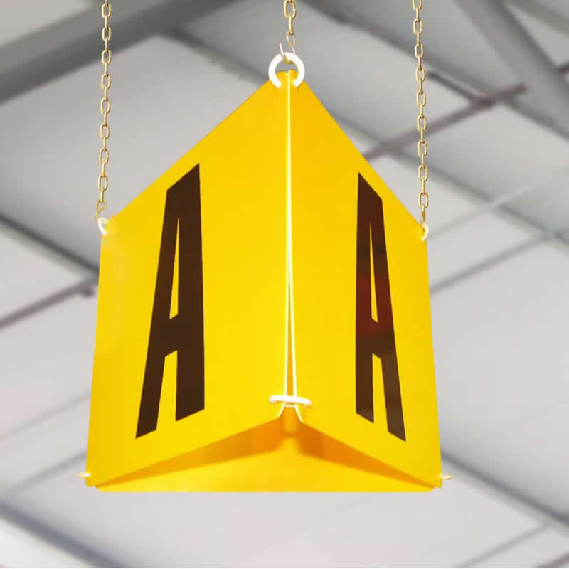 3 Way Hanging Markers - 220mm x 270mm