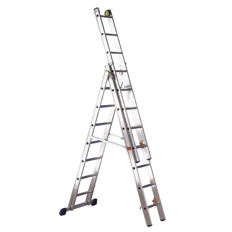 3 Way Aluminium Steps