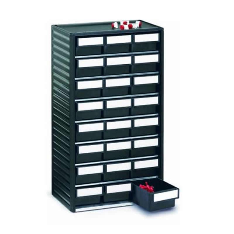 ESD storage cabinet - 24 x size 04 drawers