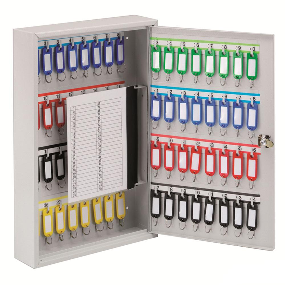 KEYSTOR - 64 Hook Key Cabinet
