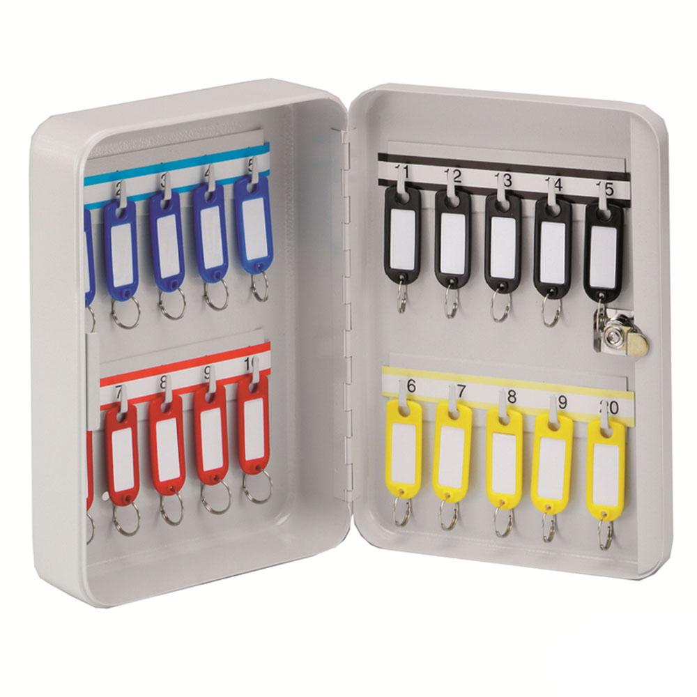 KEYSTOR - 20 Hook Key Cabinet