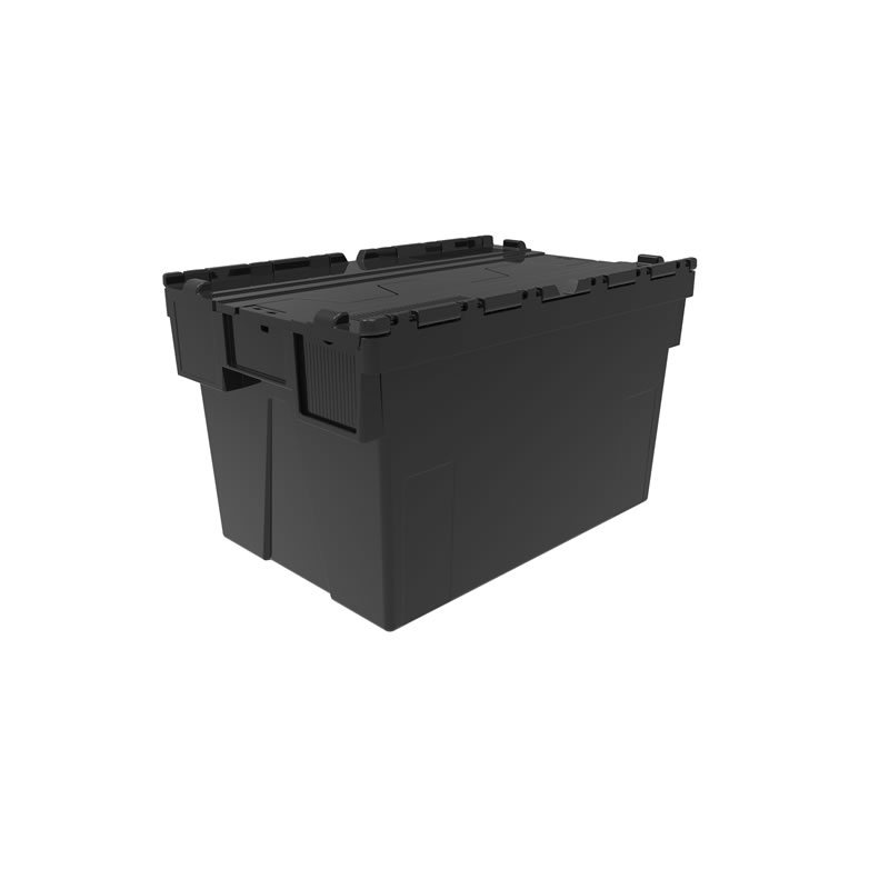 Attached Lid Container - 190 Litre