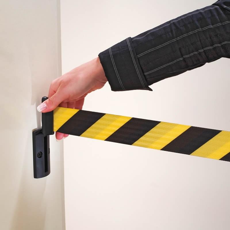 Belt Barrier Post - Wall Clip