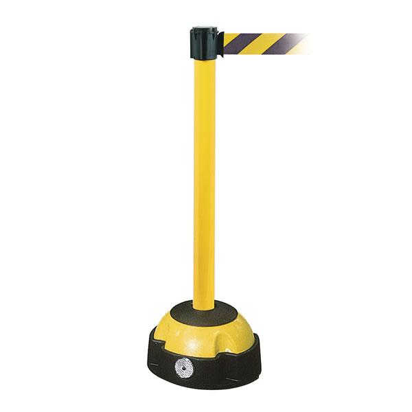 Belt Barrier Posts - Yellow
