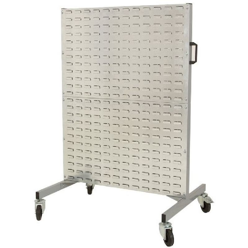 Louvre Panel Trolley for Hanging Bins (No Bins Included)