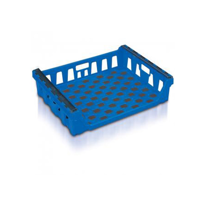 Blue Bread Basket With Bale Arms - 68 Litres