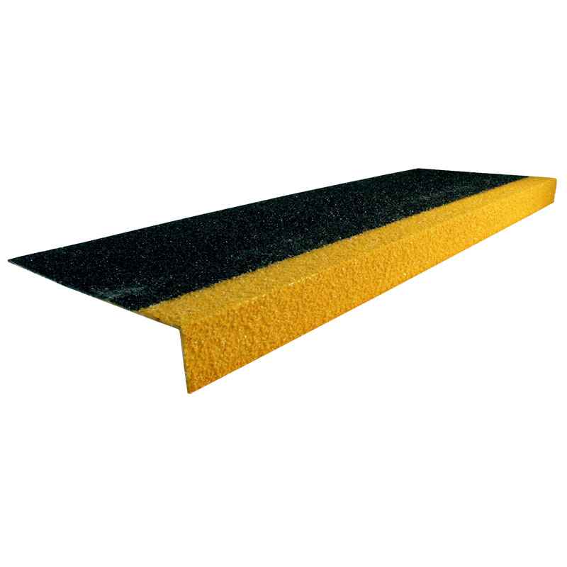 COBAGrip Stair Treads - Black and Yellow