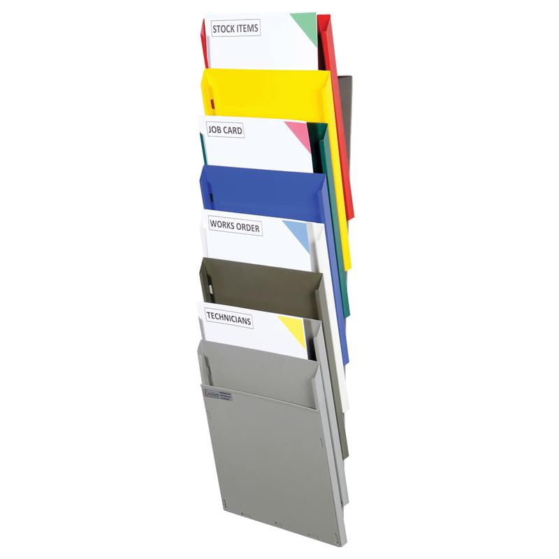 Cascading Document Display Racks - A4 Portrait