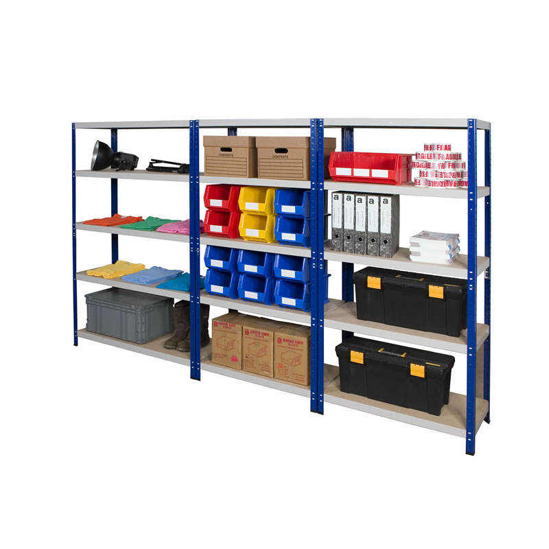 Quick Assembly Shelving - Rubber Mallet and Bay Connectors