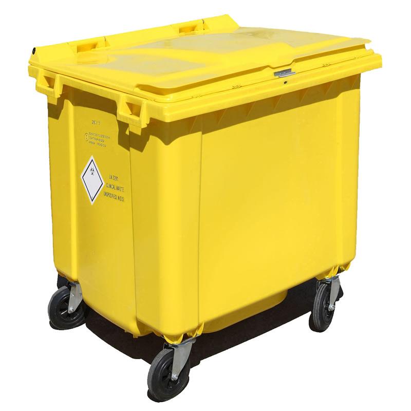 1100 Litre Clinical Waste Bin