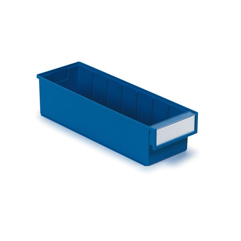 Coloured Shelf Bins - 100mm(h) x 132mm(w) x 300mm(d)