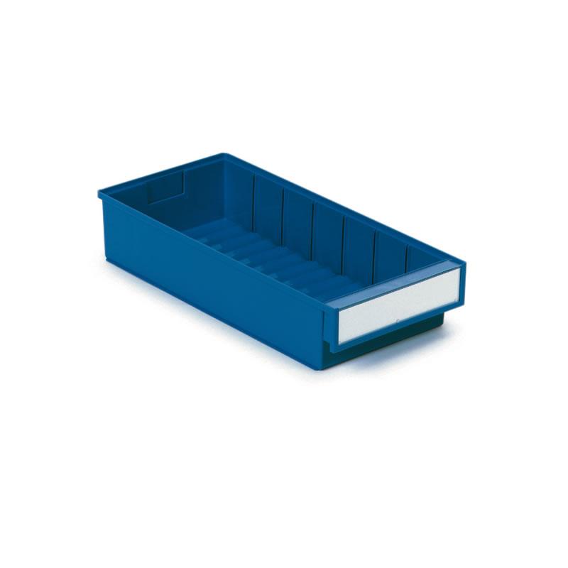Coloured Shelf Bins - 82mm(h) x 186mm(w) x 300mm(d)