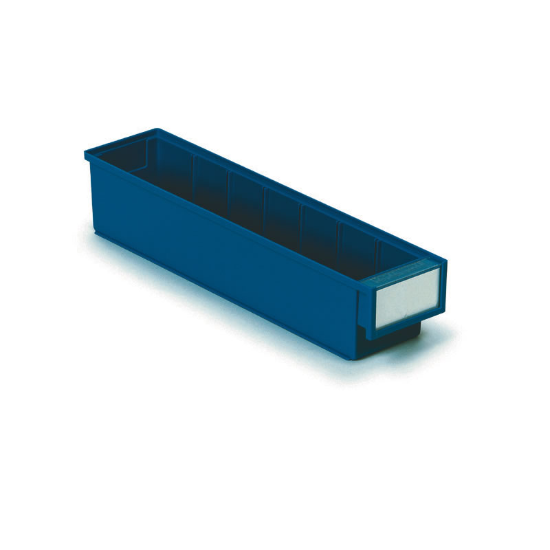 Coloured Shelf Bins - 82mm(h) x 92mm(w) x 300mm(d)