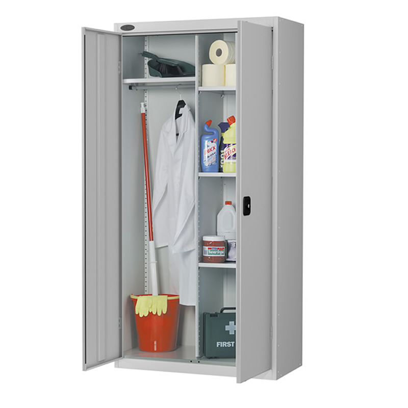 Combination Cloakroom and Utility Cupboard