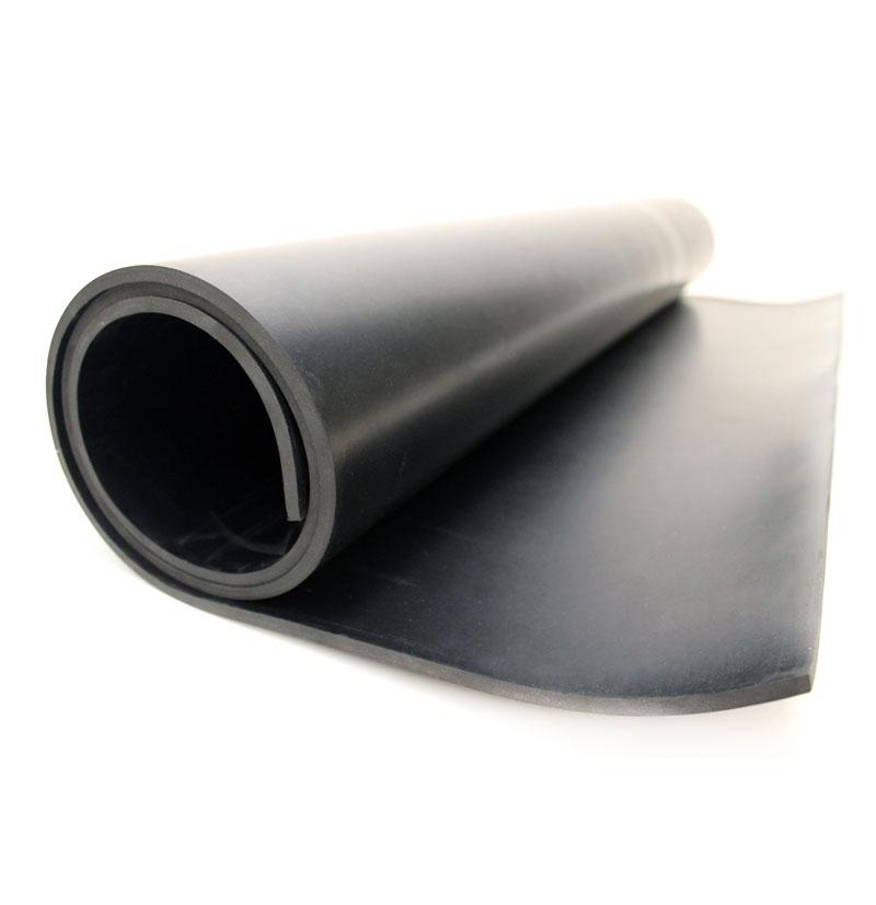 Commercial Black Rubber Sheets - 10m Lengths
