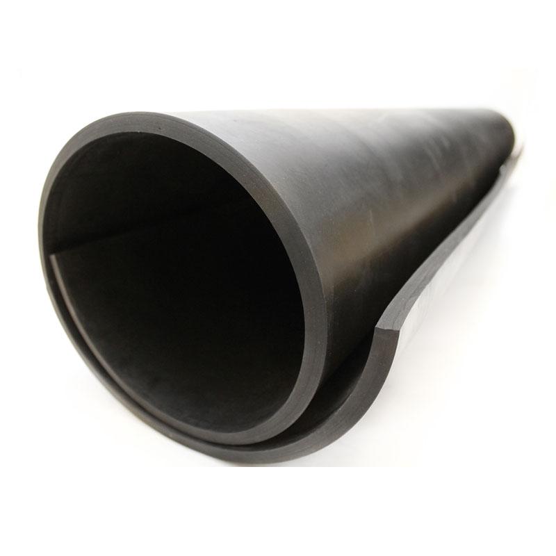 Commercial Black Neoprene Rubber Sheets - 10m Lengths