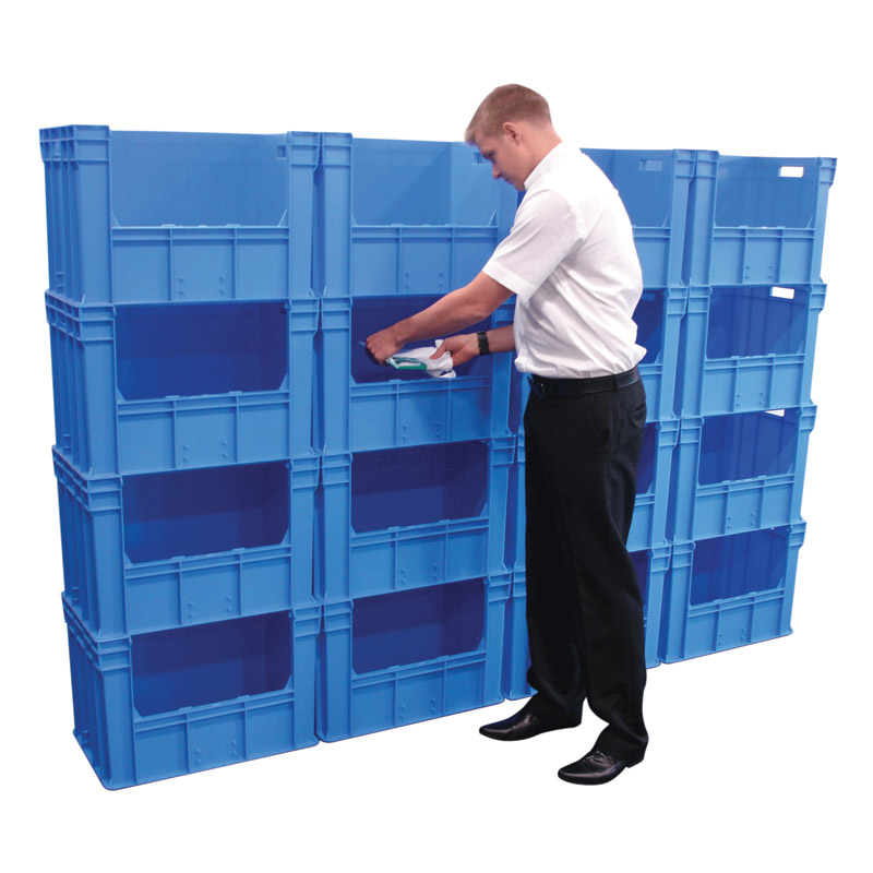 Container Pick Wall - 4 High x 4 Wide - 1640 x 400 x 2400