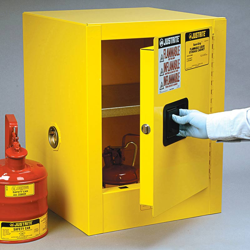 Flammable Storage Countertop Cabinets
