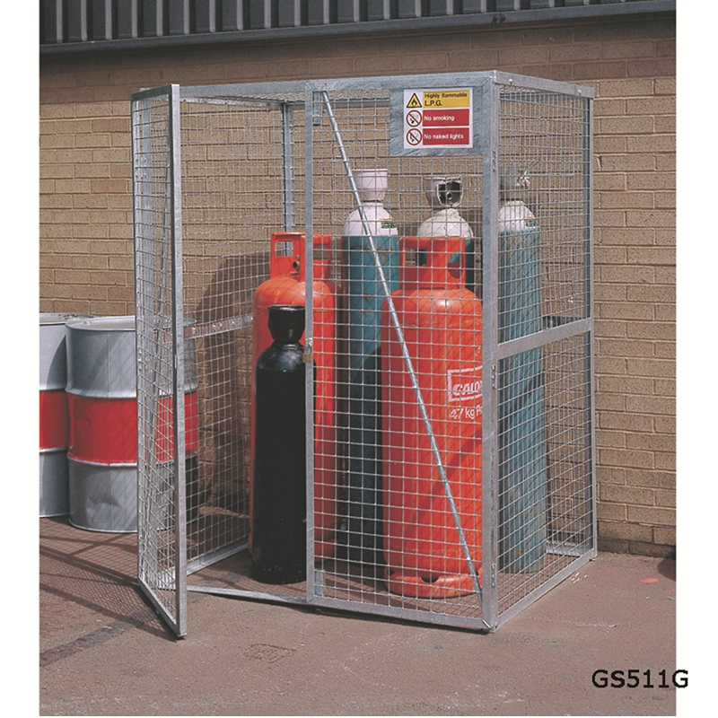 Cylinder Storage Lock-Up Cages