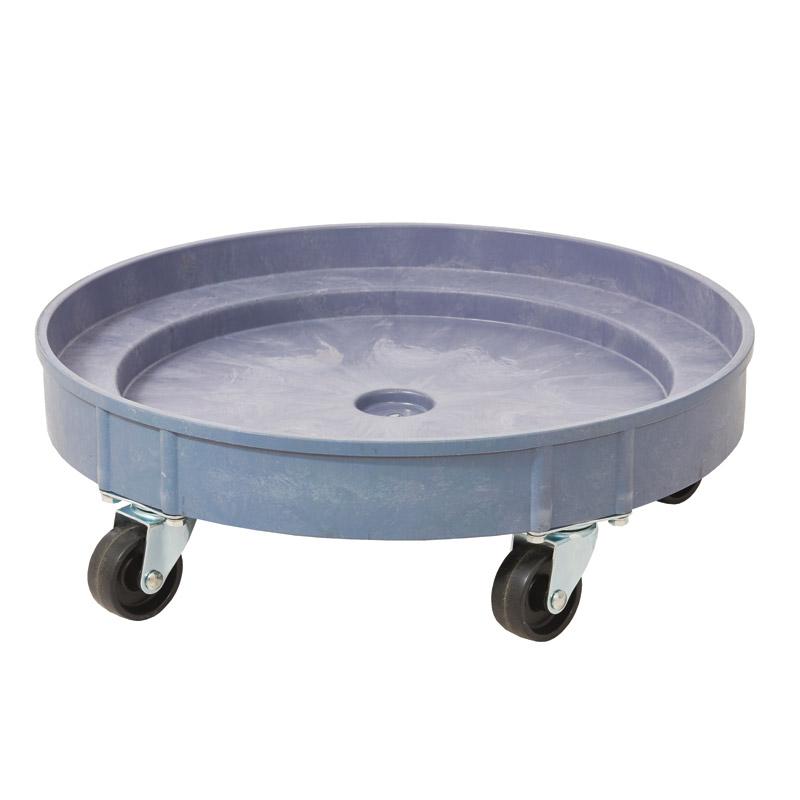 Plastic Drum Dolly - 616mm Diameter