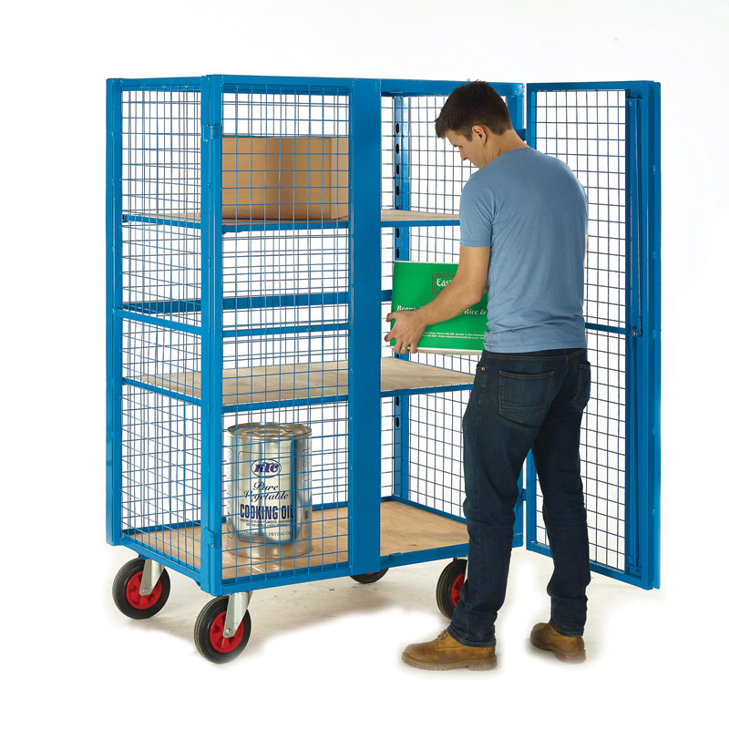 Heavy Duty Security Distribution Cage