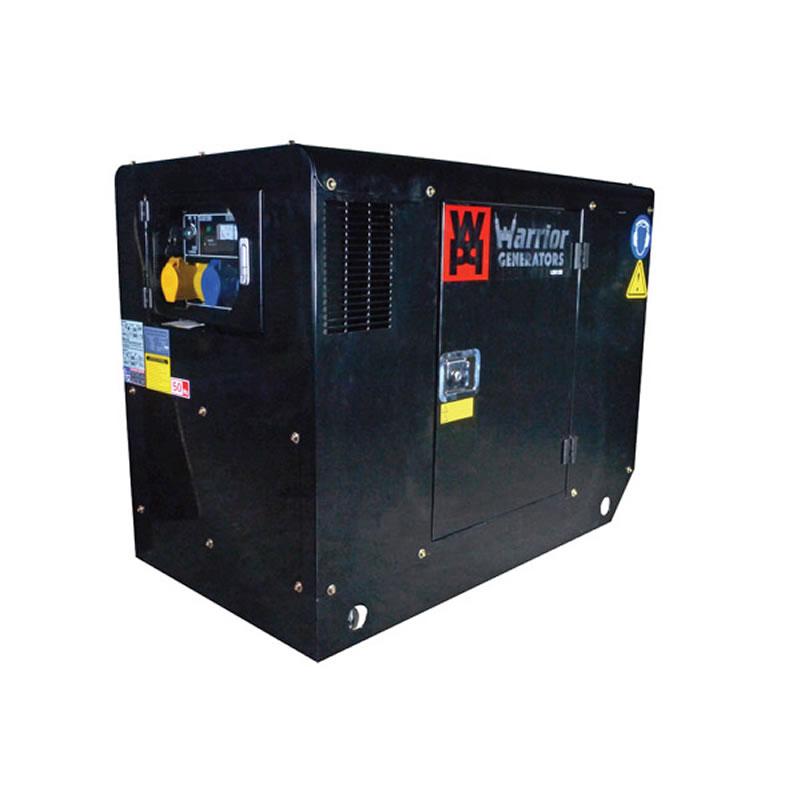 Warrior Silent Diesel Generator - 11 Kilowatt - Electric