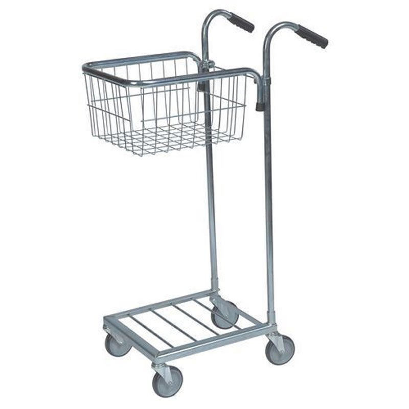 Distribution Trolleys with 1 Upper Basket