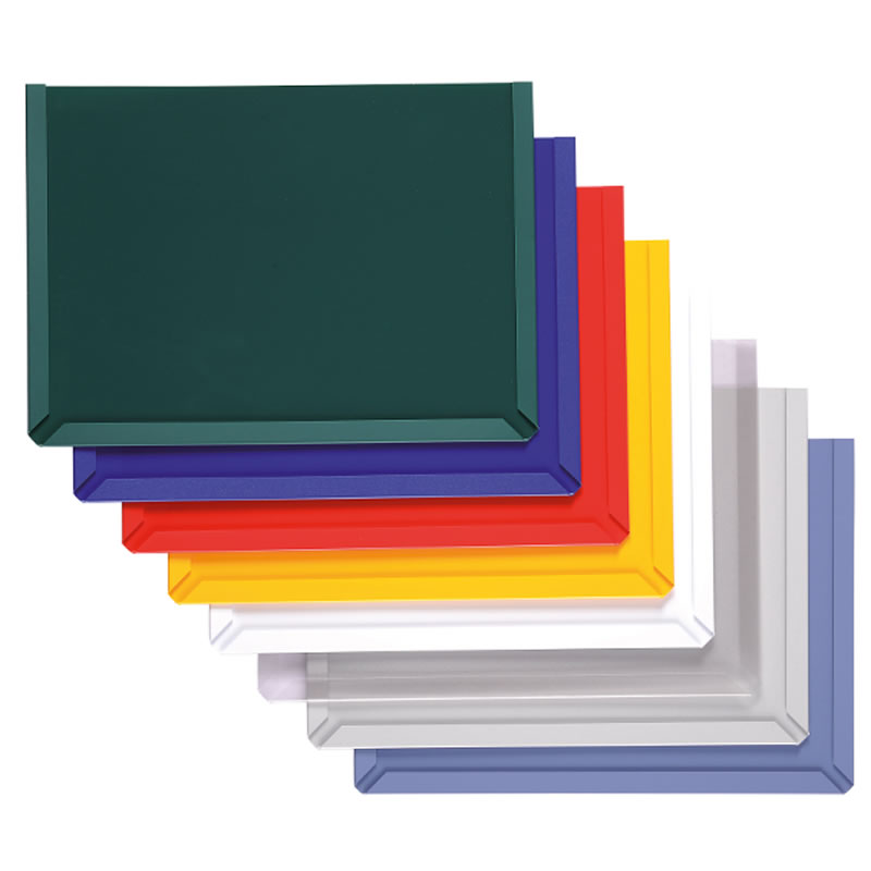 Magnetic Backed Document Pockets - Landscape Style -  Packs of 3