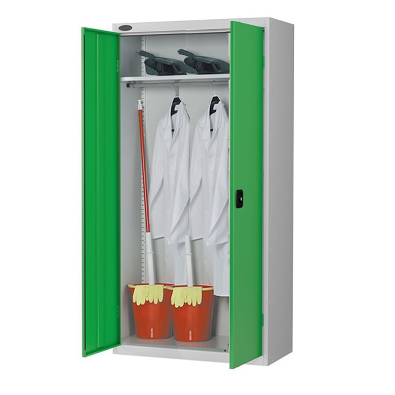 Double Door Cloakroom Cupboard