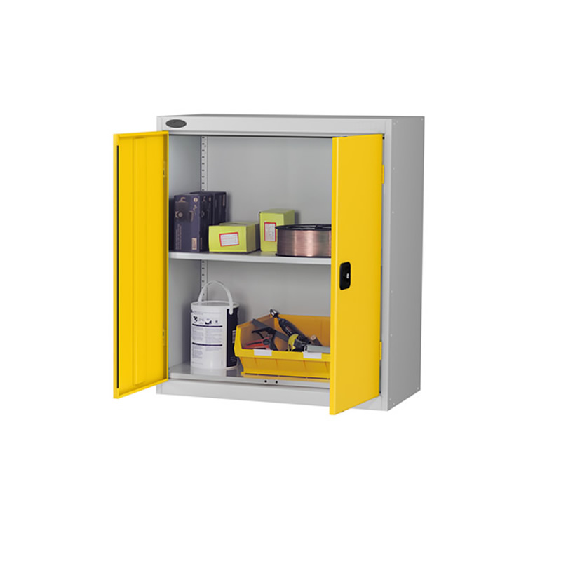 Double Door Low Cupboard with 1 Shelf