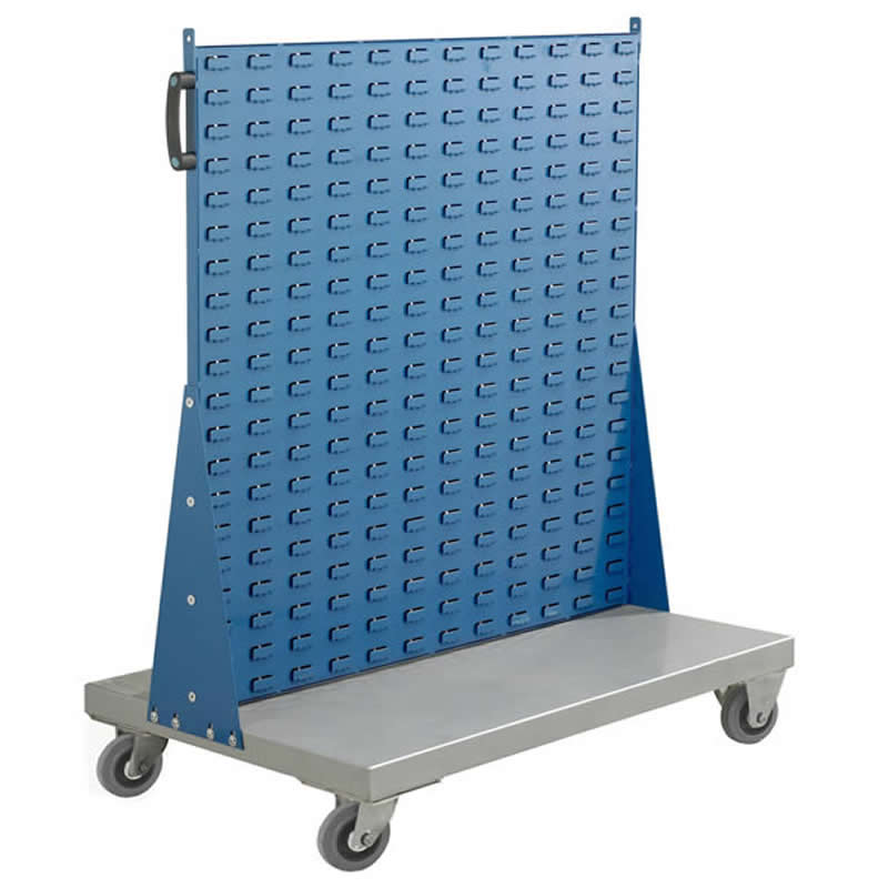 Double Sided Louvre Panel Trolleys