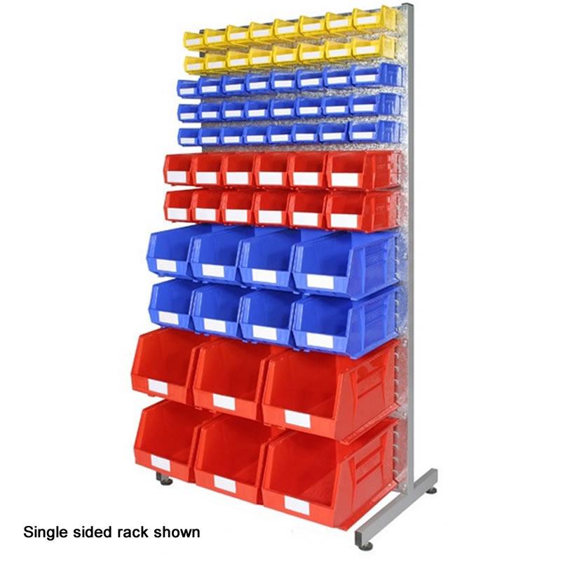 Bin Rack - Double Sided with 132 Bins
