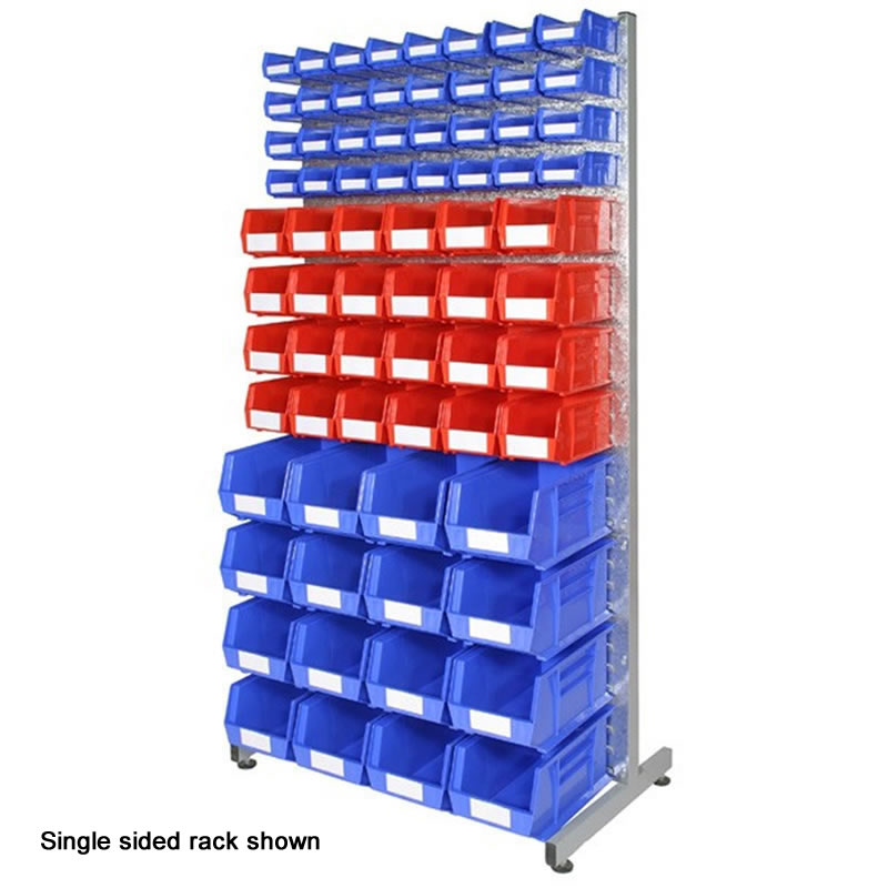 Bin Rack - Double Sided with 144 Bins