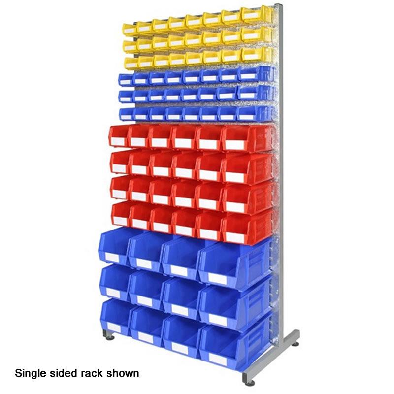 Bin Rack - Double Sided with 168 Bins