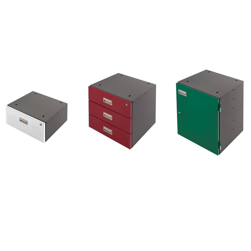 Drawer and Cupboard Units for Heavy Duty Workbenches