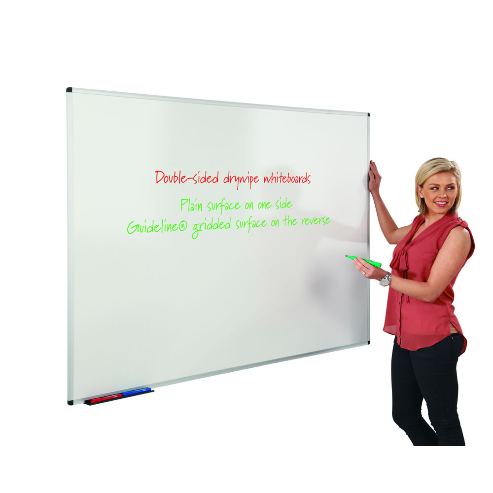 Dual Faced Non-Magnetic Whiteboards