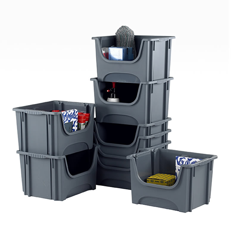 Space Bin Containers - Pack of 5