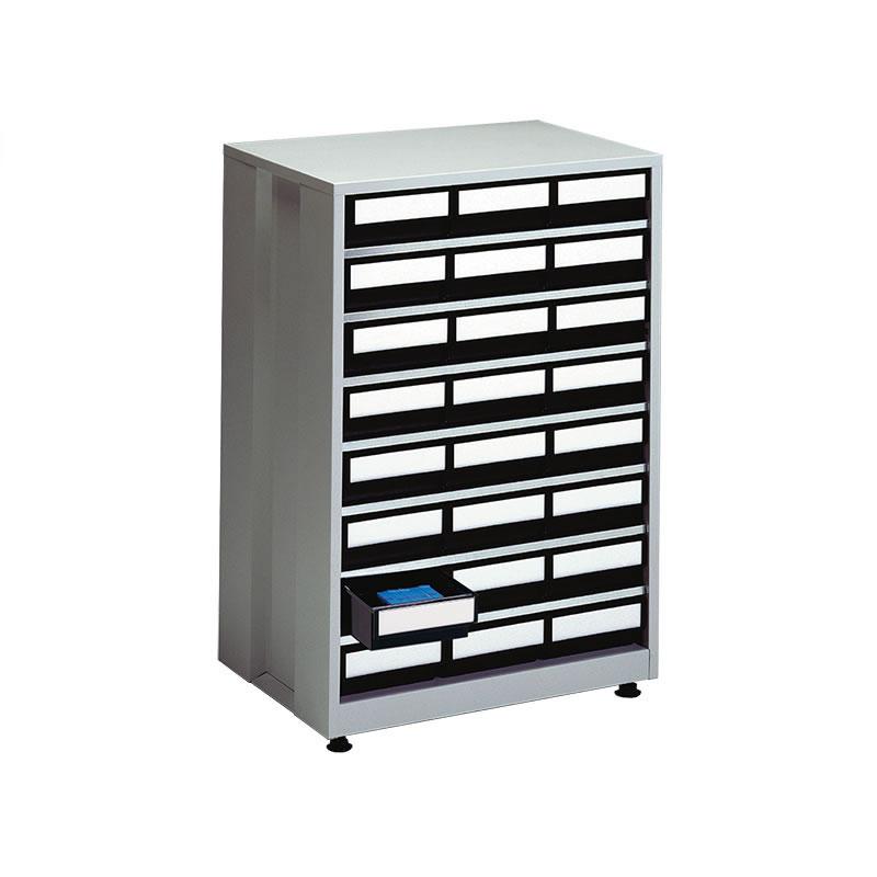 ESD High Density Storage Bin Cabinet - 24 Black Bins
