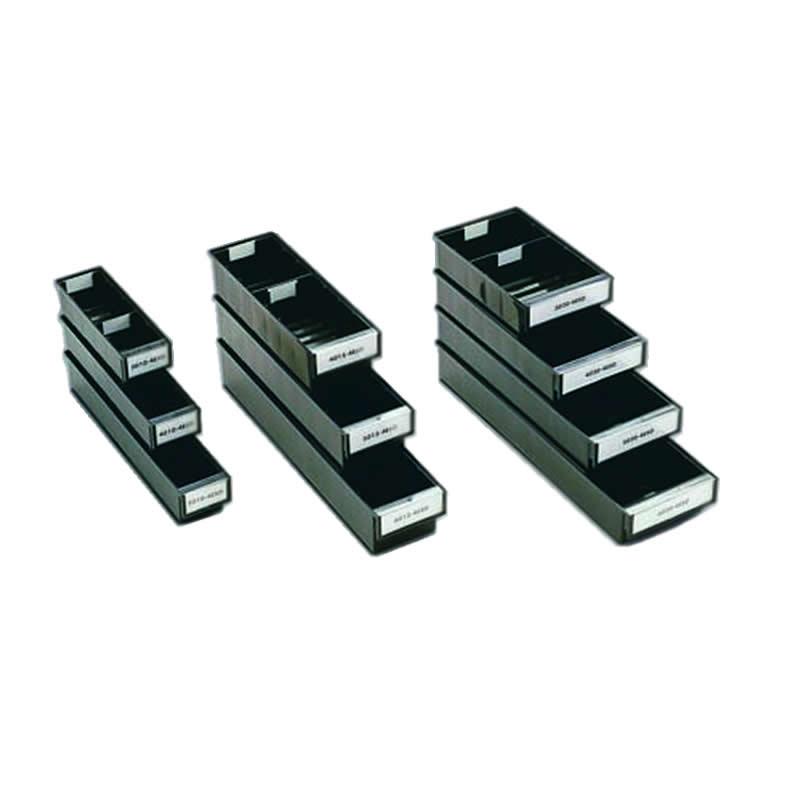 ESD shelf bins - 82mm(h) x 92mm(w)