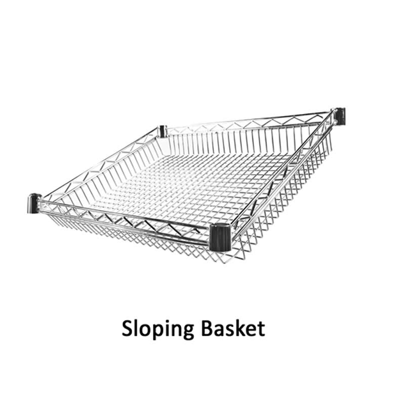 Sloping Baskets for Eclipse Shelving