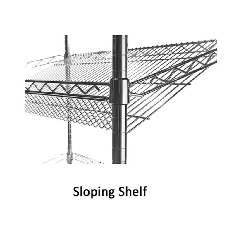 Sloping Shelves for Eclipse Shelving