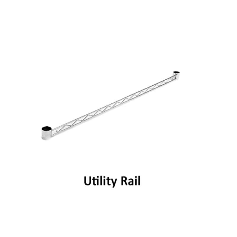 Utility Rails for Eclipse Shelving