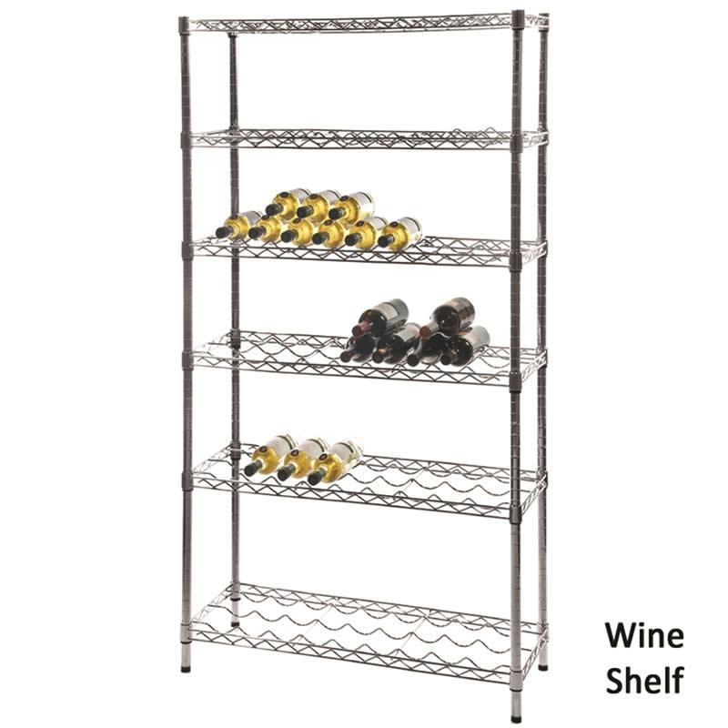 Wine Shelf for Eclipse Shelving
