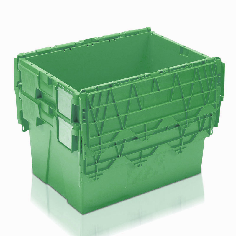 Economy Attached Lid Container - 80 Litre with drainholes