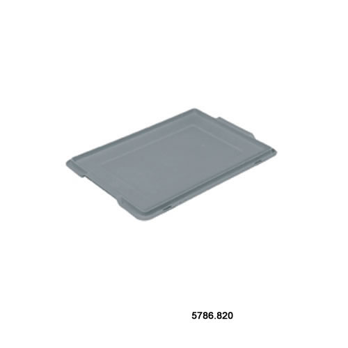 Lid for 400 x 600 Euro Containers - Grey