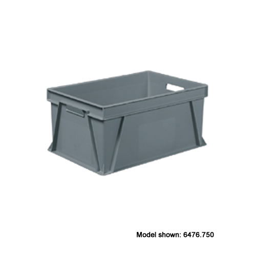 Euro Container 400mm(w) x 600mm(l) - 59 Litre